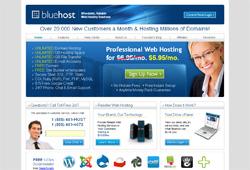 Хостинг-провайдер BlueHost