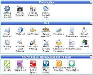 Панель управления хостингом. cPanel от HostGator
